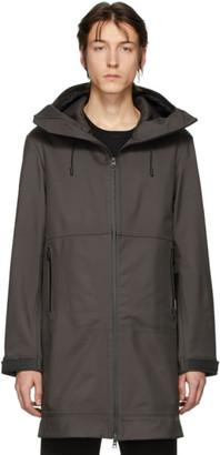 Bottega Veneta Grey Zip-Up Coat