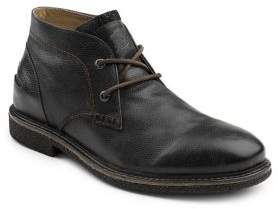 G.H. Bass Leather Round Toe Chukka Boots