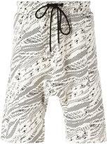 Les Benjamins printed T-shirt - men - Cotton/Polyester/Spandex/Elastane - XS