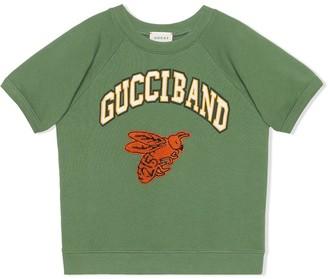 Gucci Kids bee patch T-shirt