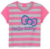 Hello Kitty Striped Burnout Graphic Tee - Girls 4-16