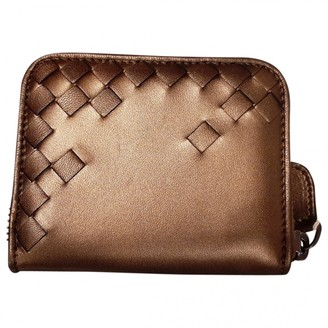 Bottega Veneta Metallic Leather Purses, wallets & cases