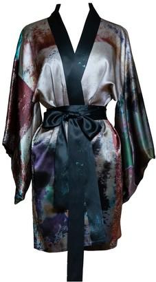 Carmen Molina Rivers & Tides Empress Silk Reversible Kimono