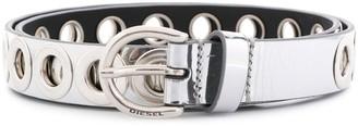 Diesel Oversized Punch-Hole Belt