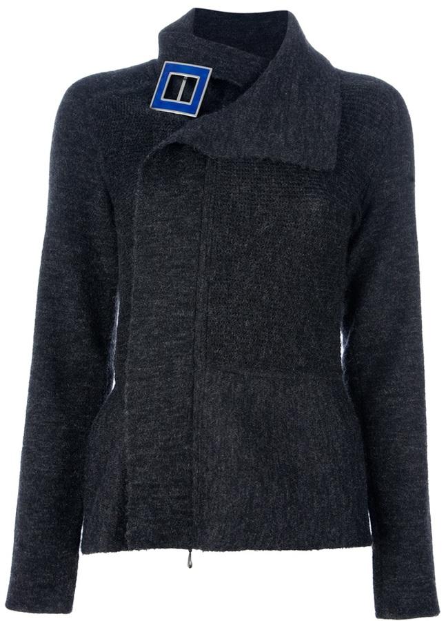 Giorgio Armani knitted short jacket