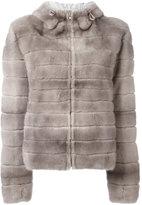 Liska hooded coat