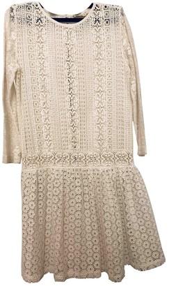Vanessa Bruno Ecru Lace Dress for Women