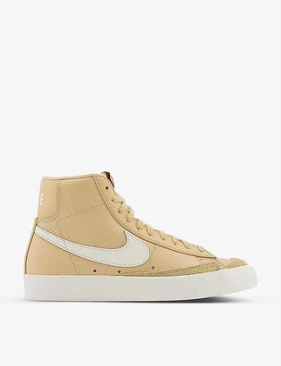 Nike Blazer 77 leather trainers