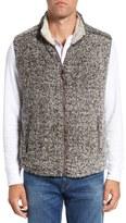 True Grit Frosty Tipped Plush Fleece Vest
