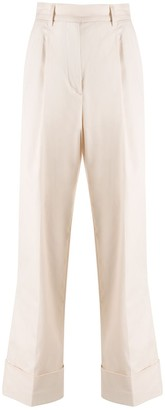 Essentiel Antwerp Straight-Leg Cropped Trousers