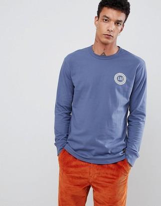 Levi's Levis Skateboarding Skateboarding Long Sleeve T-Shirt With Badge Logo In Blue