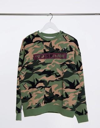 Miss Sixty forrest sweatshirt in green