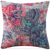 "Tracy Porter Nell Abstract-Print Velvet 18"" Square Decorative Pillow"
