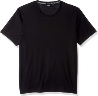 HUGO BOSS Men's Tiburt Short Sleeve Crewneck T-Shirt