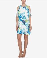 CeCe Cold-Shoulder Shift Dress