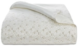 Hotel Collection Gilded Geo Embroidered Full/Queen Duvet Cover, Created for Macy's Bedding