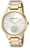 Anne Klein AK-3416SVGB (Gold Tone) Watches