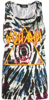 DSQUARED2 tie-dye print vest