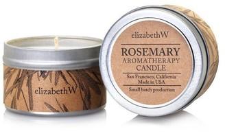 elizabeth W Travel Rosemary Candle