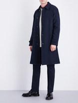 Ralph Lauren Purple Label Basketweave-pattern wool and alpaca-blend coat