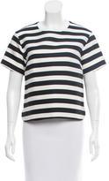 Kate Spade Striped Short Sleeve Top