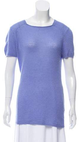 148 Cashmere Short Sleeve Top