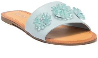 Kenneth Cole Just Enough 3D Floral Slide Sandal