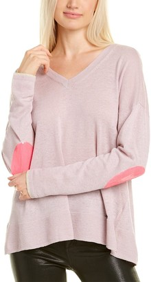 LISA TODD Summer Shine Linen-Blend Sweater