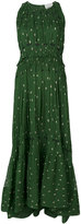 3.1 Phillip Lim Printed pintucked gown - women - Silk - 2