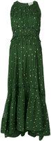 3.1 Phillip Lim Printed pintucked gown - women - Silk - 4