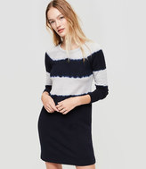 LOFT Lou & Grey Tie Dye Signaturesoft Sweatshirt Dress