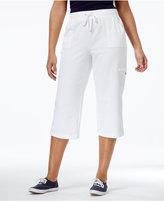 Karen Scott French Terry Capri Pants, Only at Macy's