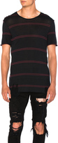 Amiri Double Striped Tee