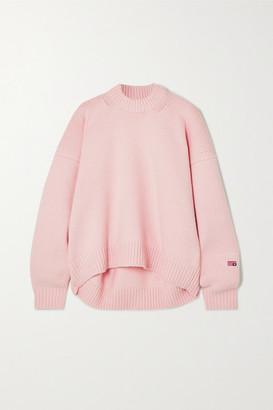 Alexander Wang Oversized Wool-blend Sweater - Pink