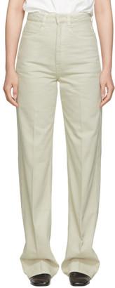 Lemaire Off-White Denim Jeans