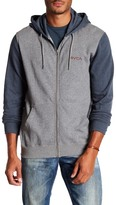RVCA Circle Type Colorblock Hooded Sweatshirt