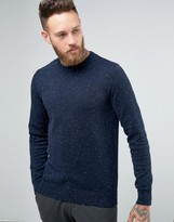 Jack & Jones Premium Slim Fleck Knit