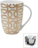Mikasa Gift Mugs Geo Circle Gold Mug