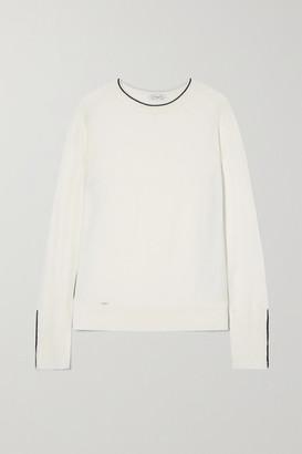 L'Etoile Sport Merino Wool Sweater - White