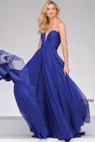 Jovani Strapless Chiffon Prom Dress 45210