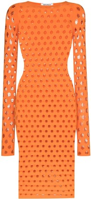 MAISIE WILEN Perforated Midi Dress
