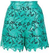 MSGM macrame shorts - women - Polyester - 42