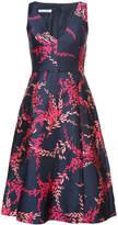 Oscar de la Renta sleeveless dress with print