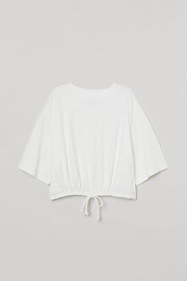 H&M Drawstring T-shirt