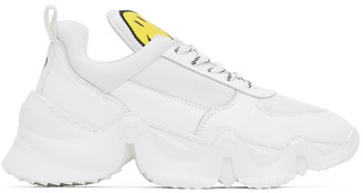Joshua Sanders White Smiley Edition Donna Sneakers