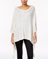 Steve Madden On-the-Go Tassel Poncho