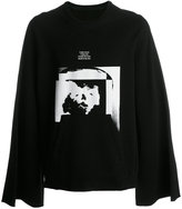 Julius flared sleeve sweatshirt - men - Cotton - 4