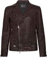 AllSaints Men's Conroy Leather Jacket