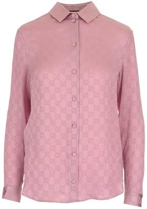 Gucci GG Jacquard Motif Shirt
