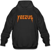 Sofia Men's Kanye West Album Yeezus Logo Hoodies XL